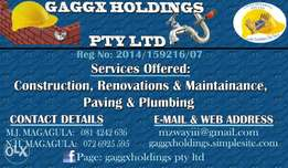 Gaggx Holdings Pty Ltd