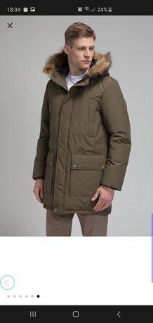 NOWA GEOX RESPIRA r.L50 CZARNA ciepła, zimowa kurtka męska