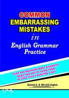 584 Most Common Embarrassing Mistakes In English & Correct Usage.