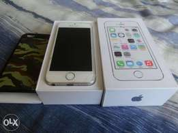 iPhone 5s silver 16gig