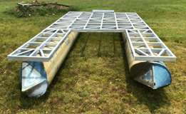 BSR DIY Galvanized Frames for Jetty