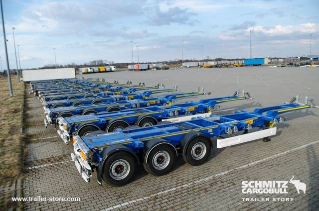 Wielton Semitrailer Container chassis - 2016