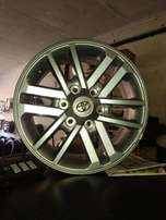Hilux mag rims available in stock