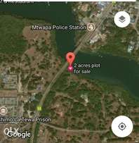 2 acres prime plot for sales in between Shanzu and Mtwapa Creek.