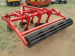 6 Tine Cement Plough Ripper with Roller
