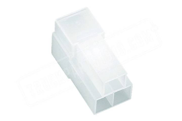 White Multiconnector male  3p TRUCKPARTS1919 spare parts for truck - 2019