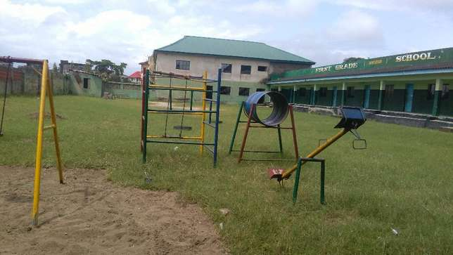 A government approved private school, on a 4 plot of land fence at Iba Ojo - image 4