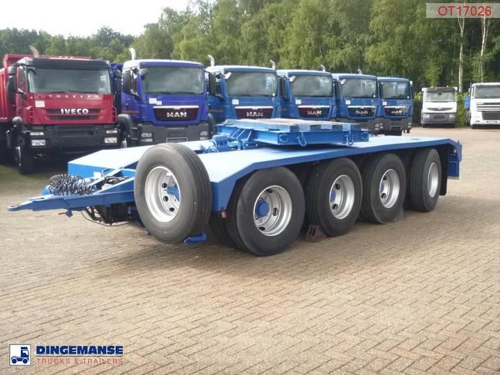 Trabosa 4-axle bogey dolly 56000 kg - 1990