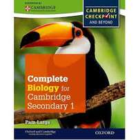 complete biology for cambridge secondary 1