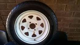 New Trailer rim and tyre size 13