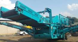Used 2011 Powerscreen H6203 Mobile Triple dech screen