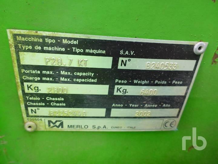 Merlo P28.7KT 4x4x4 - 2002 - image 7