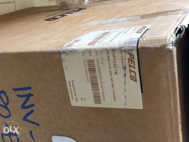 Brand new EXP1230-7N Pelco 4.3-129mm 30x Optical Zoom 1920 x 1080 Outd