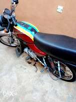 Fairly used Bajaj boxer motorcycle