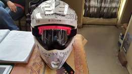 Ladies offroad Helmet SMALL