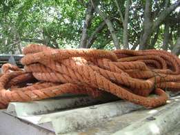 Manila rope 50 m (30 mm diameter)