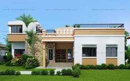 4 bedroom self compound for rent at adenta housing down