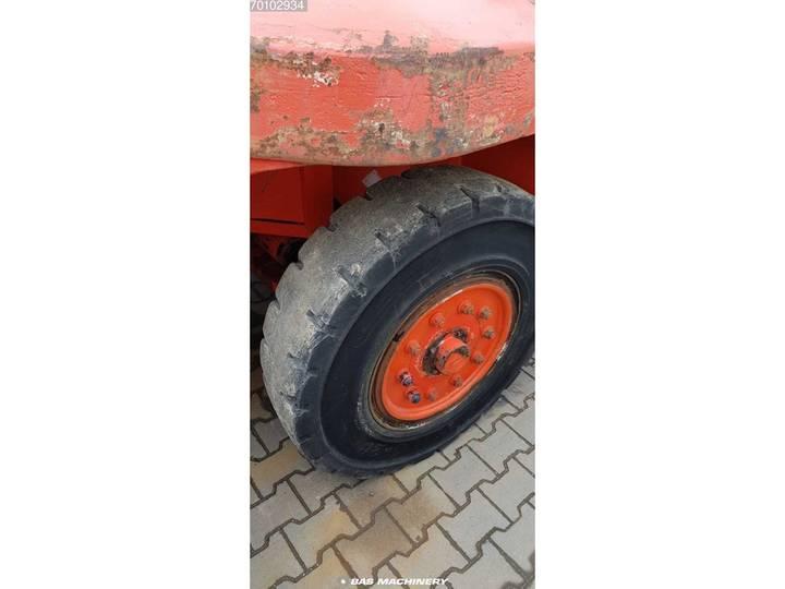 Linde H160-1200 Side shift - good tyres - 1993 - image 10