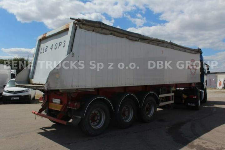 Bodex kis 3w-a tipper 36m3 - 2009