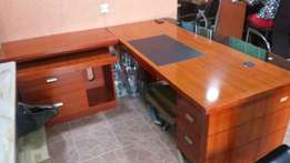 Office desk 1.8meter with extension mobile drawer