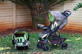 Chelino Tech Rider Travel System {pre-loved} - very good condition