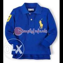Ralph Lauren Baby Boys Big Pony Long-Sleeved Polo (6 Months) - Rugby R