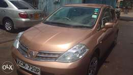 Nissan Tiida on sale