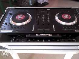 Neatly used Numark NS7FX with controller box.