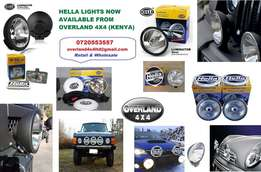 Hella Spot Lights Fog Driving 4x4 Toyota Land Rover Nissan & Twin Horn