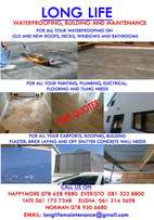 LONGLIFE waterproofing, building and maintenance