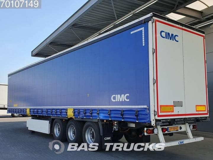 CIMC SG 03 Huckepack Edscha Palettenkasten BPW - 2016