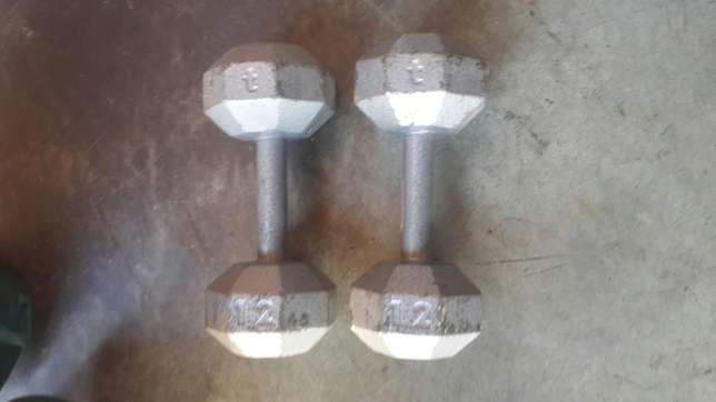 Two dumbells set Katlehong - image 1