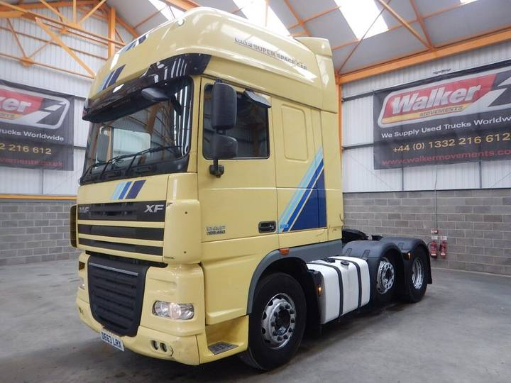 DAF XF105 460 EURO 5 SPACE CAB 6 X 2 TRACTOR UNIT - 2013 - DE63 - 2013