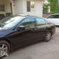 Honda Accord 2005 with Leather interior, V6 model