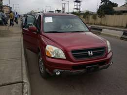 Newly arrived Honda pilot