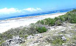 6 Acres Beach Plot 4 Sale in Kilifi near Watamu with Clean Title Deed