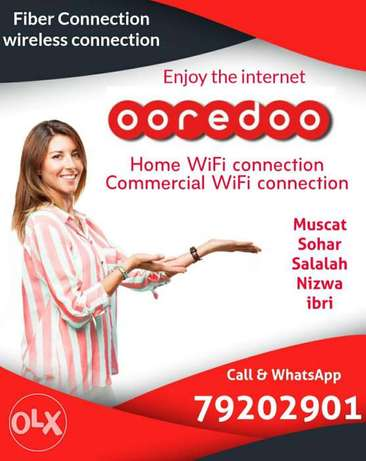 One month free offer ooredoo unlimited WiFi