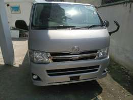 Toyota hiace Diesel 2012 model. KCM number 2012 model loaded with