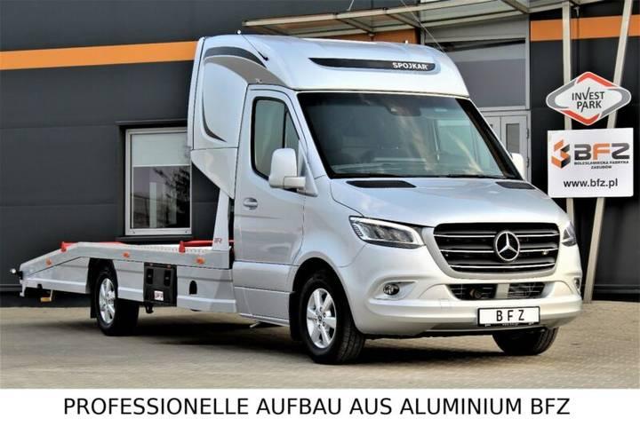 Mercedes-Benz Sprinter 319 LUFTFEDERUNG AB WERK Schlafkabine - 2019