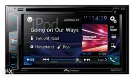 "New 6"" Pioneer AVH-X395BT 2DIN DVD Multimedia Car Stereo Free Delivery"