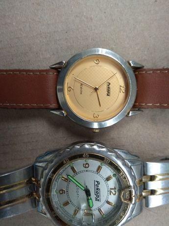 fc07e886 Часы Рекорд кварцевые мужские и женские с механизмом sitizen Синельниково -  изображение 1