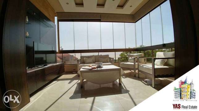 Ballouneh 230m2 – brand new – decorated – apartment for sale -