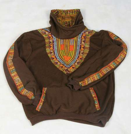 Brown dashiki sweater Nairobi CBD - image 2