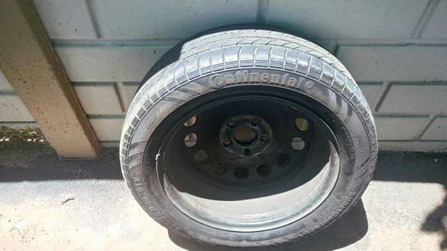 Tire with rim 205/55/R16 Pinetown - image 1