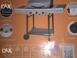 Alfa 3 burner Gas braai NEW+full 9kg gas cylinder