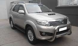 2012 Toyota Fortuner 3.0 D-4D 4x4 Automatic,