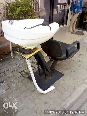 Hair Washing Chair with Wash Basin Lekki - image 3