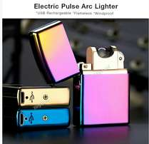 Cigarette Lighter- Electric Pulse Arc, Flameless, Micro USB charger