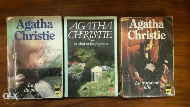 Agatha Christie 3 books