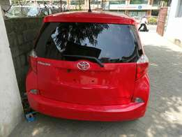 Toyota Ractis newshape KCM number 2011 model loaded with alloy ri